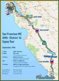 Ksu Map 111th Anniversary U2014 San Francisco Motorcycle Club