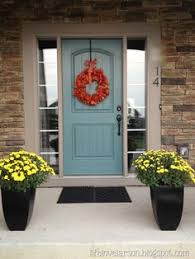benjamin moore wythe blue for the front door i think we have a