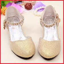 wedding shoes for girl gold dress shoes for wedding 285488 2017 children glitter sandals