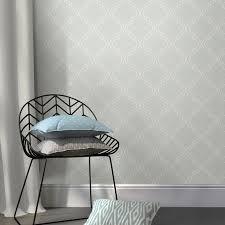 wallpops quatrefoil grey peel u0026 stick wallpaper l 5500mm w 520mm
