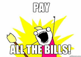 Paying Bills Meme - blog kangaroom
