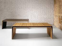 Modern Wooden Desks Minimalist Wood Desk By Haworth With Shelf To Hide All