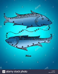 color enhancement of pisces a constellation of the zodiac pisces