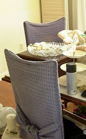 How To Cover A Dining Room Chair How To Make Simple Slipcovers For Dining Room Chairs Purple