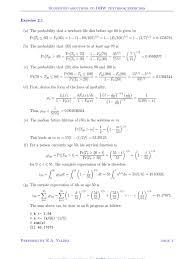 survival models solution chapter 2 mathematics physics
