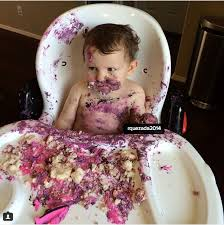 cuteness overloaded 15 cute babies with their birthday cakes