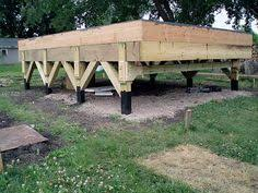Home Foundation Types Pier And Beam Foundations Are One Of The Most Common Types Of