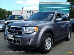 Ford Escape Limited - 2008 ford escape limited 4wd in tungsten grey metallic a51761