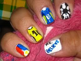 national flag nail arts fashion fuz