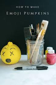 clean emoji how to make emoji pumpkins and clean up after kids u0027 crafts emoji