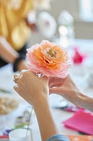 Make Beautiful by Crepe Paper Flowers Diy Pretty Peonies Think Make Share