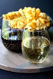 popcorn and cheese wine garnish recipe kabobs cocktails and
