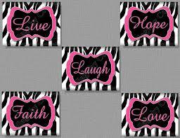 Zebra Print Room Decor 13 Best Photos Of Pink Zebra Print Walls Pink U0026 Black Zebra