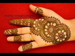 beautiful easy simple henna mehndi designs for matroj mehndi