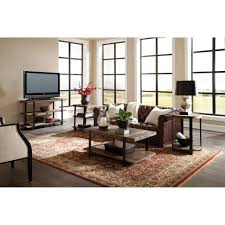 coffee tables coffee table end set round glass wood mirrored tv