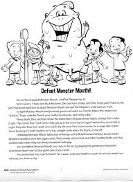 activity sheets general cosmetic dentist