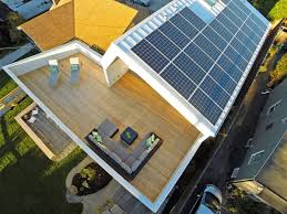 Unexpected Roof Design For Solar Panels In This Net Zero Home - Solar powered home designs
