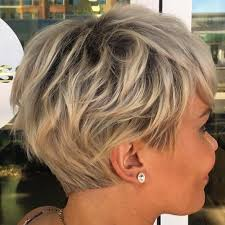 layered vs shingled hair 40 short shag hairstyles that you simply can t miss blonde pixie