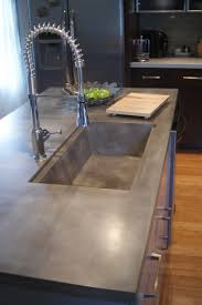 How To Make A Concrete Sink For Bathroom 14 Reasons To Use Concrete Countertops In Your Bathroom Bathroom