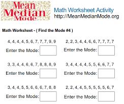 finding mean worksheets worksheets