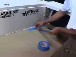 marine flooring installation