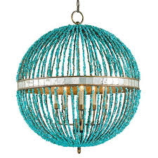 turquoise beaded chandelier turquoise beaded chandeliers high diy apartment therapy