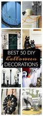 Folk Art Halloween Decorations Best 50 Diy Halloween Decorations Decoration Holidays And