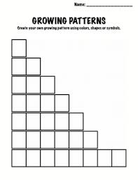 patterns in kindergarten copy of copy of growing patterns lessons tes teach