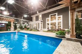 Fischer Homes Design Center Kentucky Stunning Pool For Indianapolis Home Show U0027s Centerpiece Home