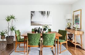 tropical dining room tropical house design dining room with walnut console tables