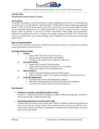 Business Analyst Roles And Responsibilities Resume Marketing Analyst Job Description Volunteer Market Analyst