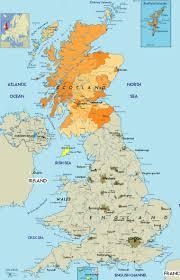 Map Of Wales 28 Scotland Scotland Map Scotland Tourist Great Britain And