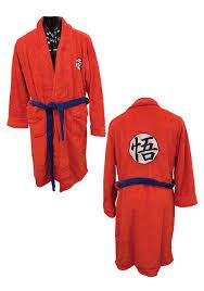 dragon ball goku bath robe