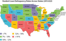 heat map us states heat map student loan debt in united states interactive html5
