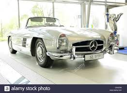 mercedes classic cabrio classic mercedes benz old timer slk stock photo
