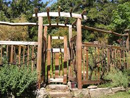 garden gates cedar sustainable woodwork