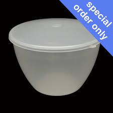 142ml 1 4 pint pudding basins lids