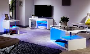 Gloss Living Room Furniture High Gloss Living Room Furniture Groupon
