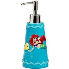 Disney Bathroom Accessories by Little Mermaid Bathroom Accessories Little Mermaid Bath Decor