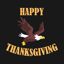 happy thanksgiving american eagle happy thanksgiving