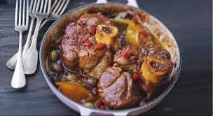cuisiner jarret de veau jarret de veau parfumé aux olives et aux épices prima