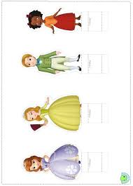 sofia cut outs sofia birthday party