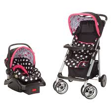 Michigan best travel system images Minnie mouse coral flowers saunter sport travel system from safety jpg