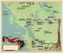 San Francisco Ca Map by Infinite City A San Francisco Atlas Rebecca Solnit