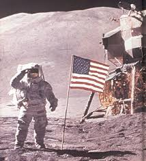 American Flag On The Moon New Page 1