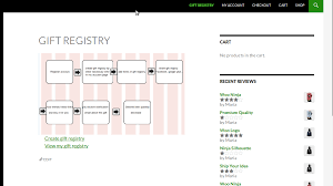 registering for wedding gifts woocommerce gift registry by magenest codecanyon