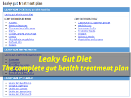 leaky gut diet what should you eat to heal a leaky gut