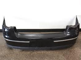 genuine rear bumper cover 06 10 vw passat sedan b6 lc9x black