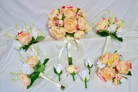 silk wedding flower packages pre made cheap and discounted silk wedding flower packages