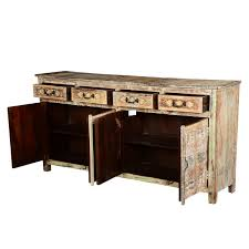 furniture distressed sideboard china cabinet ikea industrial